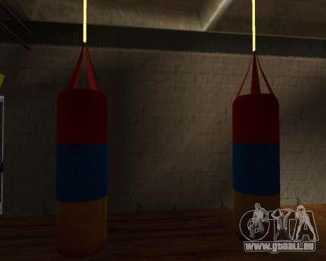 Poire style de Boxe de l'arménien drapeau pour GTA San Andreas troisième écran