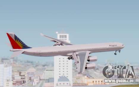 Airbus A340-600 Philippine Airlines für GTA San Andreas rechten Ansicht