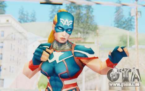 Marvel Future Fight - Captain America (2099) für GTA San Andreas