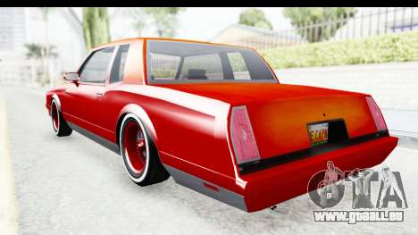 Chevrolet Monte Carlo Breaking Bad für GTA San Andreas linke Ansicht