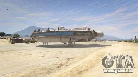 GTA 5 Star Wars Millenium Falcon 5.0 quatrième capture d'écran