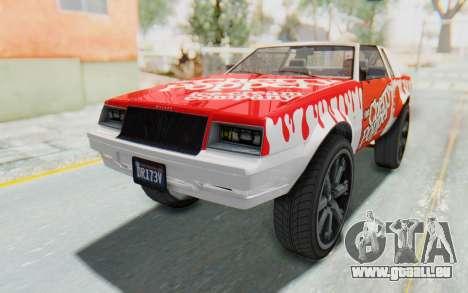 GTA 5 Willard Faction Custom Donk v2 IVF pour GTA San Andreas moteur
