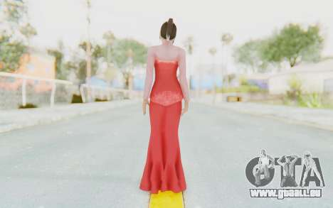 Linda Meilinda Kebaya Lady In Red für GTA San Andreas dritten Screenshot