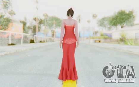 Linda Meilinda Kebaya Lady In Red pour GTA San Andreas troisième écran