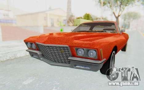 Buick Riviera 1972 Boattail Lowrider für GTA San Andreas