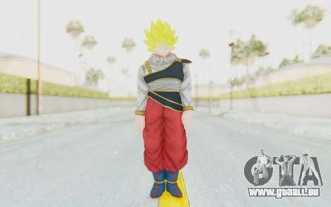 Dragon Ball Xenoverse Goku Yardrat Clothes SSJ pour GTA San Andreas deuxième écran