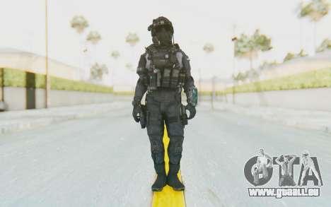 CoD BO2 LAPD v1 pour GTA San Andreas deuxième écran