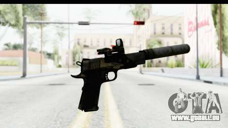 FarCry 3 - Colt 1911 Silenced pour GTA San Andreas troisième écran