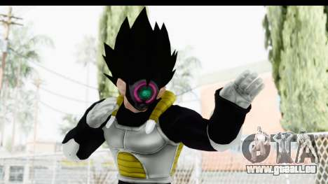Dragon Ball Xenoverse Vegeta Timebreaker für GTA San Andreas