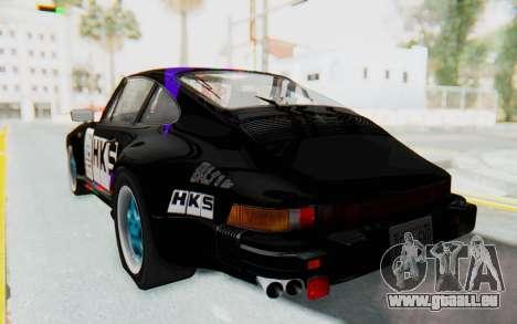 Porsche 911 Turbo 3.2 Coupe (930) 1985 für GTA San Andreas Unteransicht