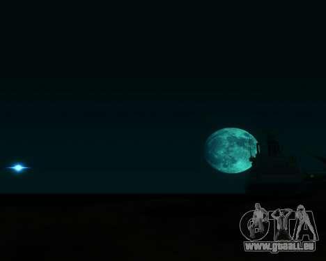 Réaliste ENB pour les moyennes PC V. 1 pour GTA San Andreas deuxième écran