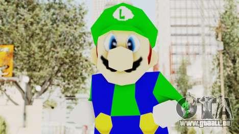 Luigi für GTA San Andreas