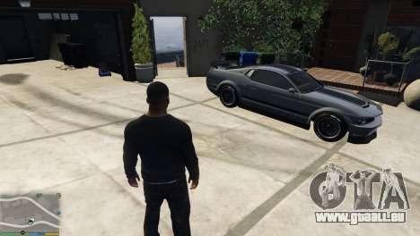 Changement de moyen de transport personnel carac pour GTA 5
