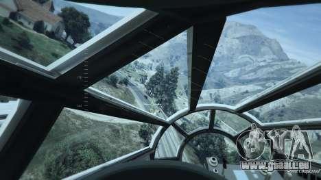 GTA 5 Star Wars Millenium Falcon 5.0 huitième capture d'écran