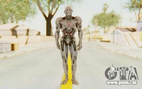 Marvel Heroes - Ultron Prime (AOU) pour GTA San Andreas deuxième écran