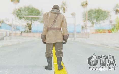 COD BO Lev Kravchenko Winter für GTA San Andreas dritten Screenshot