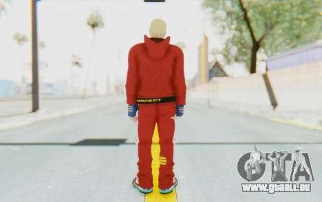 Slim Bob Skin pour GTA San Andreas troisième écran