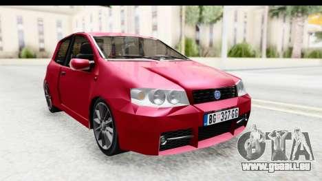 Zastava 10 1.6 pour GTA San Andreas sur la vue arrière gauche