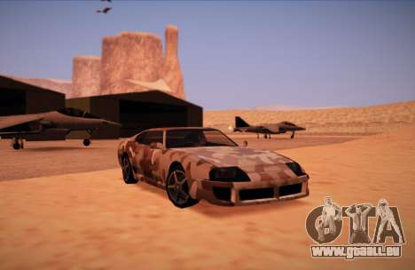 Camo. pour GTA San Andreas