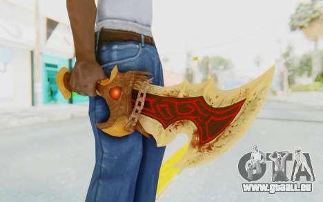 Blade of Athena pour GTA San Andreas troisième écran