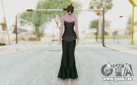 Linda Meilinda Kebaya Dark pour GTA San Andreas troisième écran