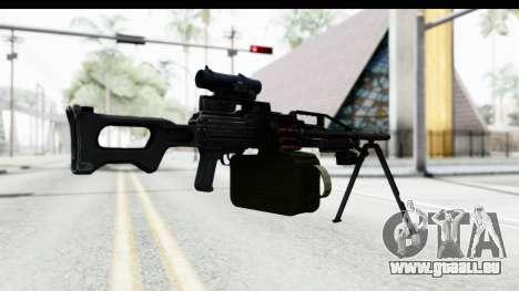 Kalashnikov PK (PKM) für GTA San Andreas dritten Screenshot