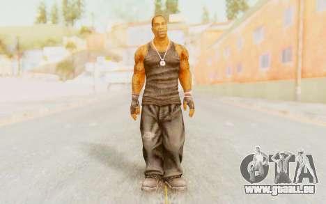 Def Jam Fight For New York - Busta Rhymes pour GTA San Andreas deuxième écran