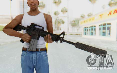Assault M4A1 Silenced für GTA San Andreas dritten Screenshot