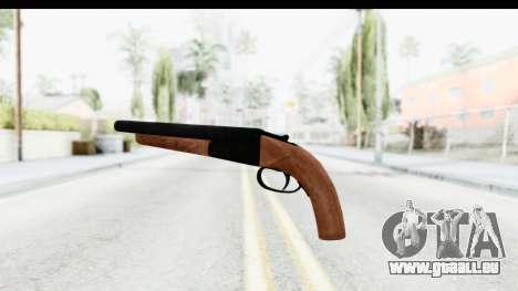 GTA 5 Double Barrel Sawn-Off pour GTA San Andreas deuxième écran