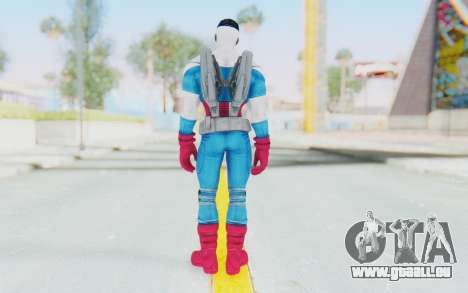 Marvel Heroes - Capitan America Sam Wilson pour GTA San Andreas troisième écran