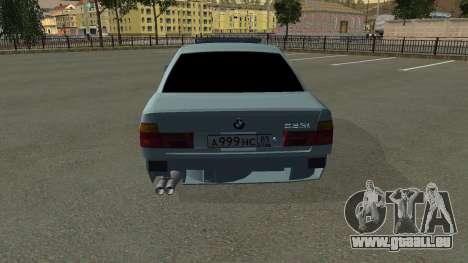 BMW 535i Gang pour GTA San Andreas vue de côté