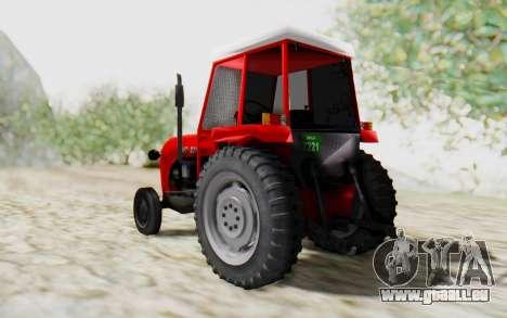 IMT 539 Deluxe pour GTA San Andreas laissé vue