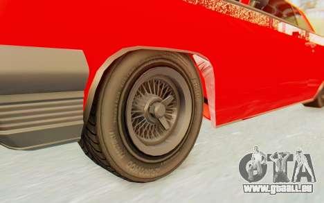 GTA 5 Declasse Voodoo Alternative v2 für GTA San Andreas Rückansicht
