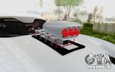 Dodge Viper SRT GTS 2012 Monster Truck für GTA San Andreas Rückansicht