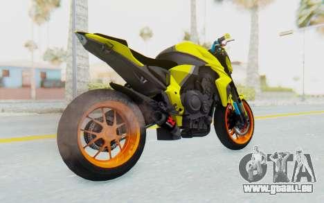 Honda CB1000R für GTA San Andreas zurück linke Ansicht