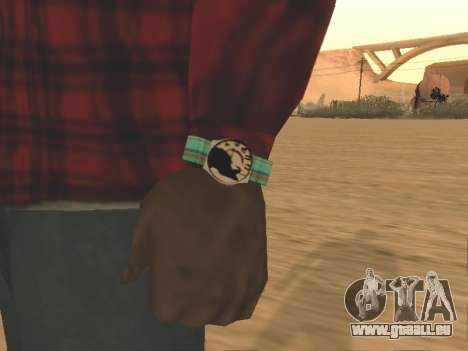Uhr Katze für GTA San Andreas
