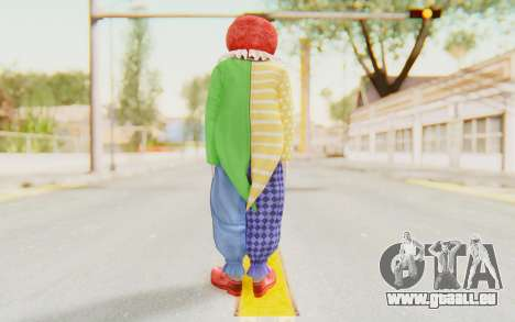 Dead Rising - Adam Macintyre The Clown für GTA San Andreas dritten Screenshot