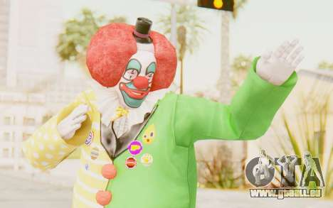 Dead Rising - Adam Macintyre The Clown für GTA San Andreas