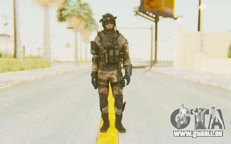 Federation Elite Assault Woodland-Flora pour GTA San Andreas deuxième écran
