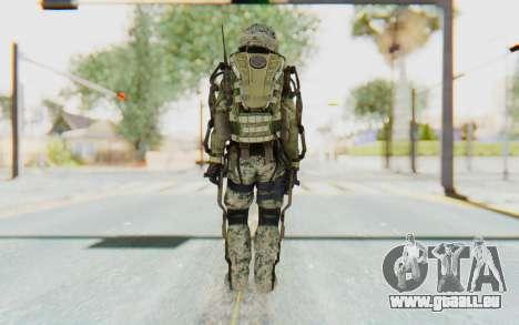 CoD AW US Marine Assault v4 Head D pour GTA San Andreas troisième écran