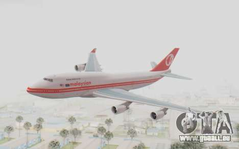 Boeing 747-200 Malaysia Airlines pour GTA San Andreas