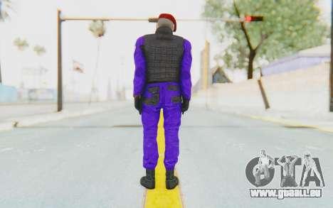 Bahrain Officer pour GTA San Andreas troisième écran