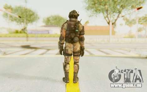 Federation Elite Shotgun Woodland-Flora für GTA San Andreas dritten Screenshot