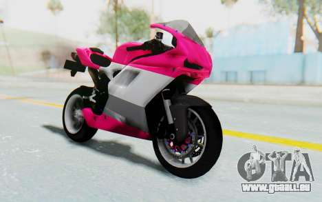 Ducati 1098R High Modification pour GTA San Andreas