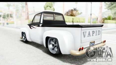 GTA 5 Vapid Slamvan Custom IVF für GTA San Andreas Motor