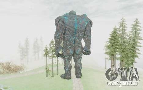 Oceanus pour GTA San Andreas troisième écran
