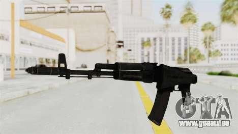 AK-74M v2 pour GTA San Andreas deuxième écran