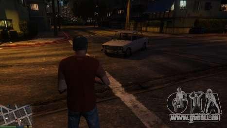 GTA 5 Änderung des persönlichen Verkehrs Zeichen dritten Screenshot