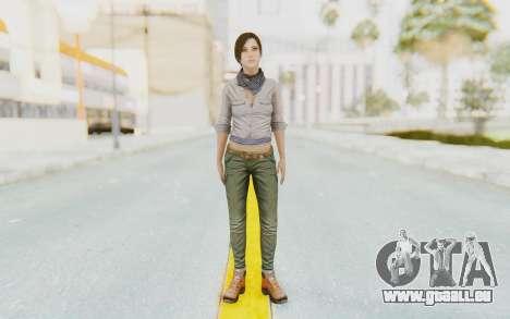 Far Cry 3 - Liza Snow für GTA San Andreas zweiten Screenshot