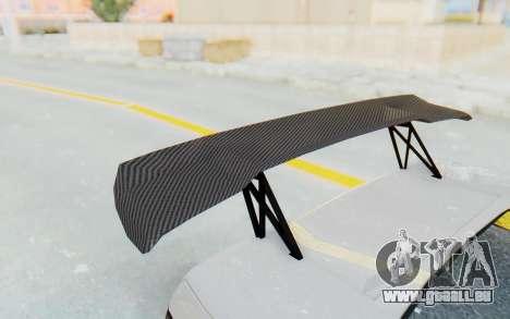 GTA 5 Futo Drift pour GTA San Andreas vue intérieure